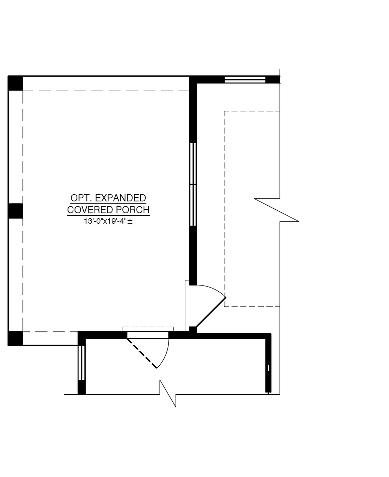 Optional Covered Porch Expansion
