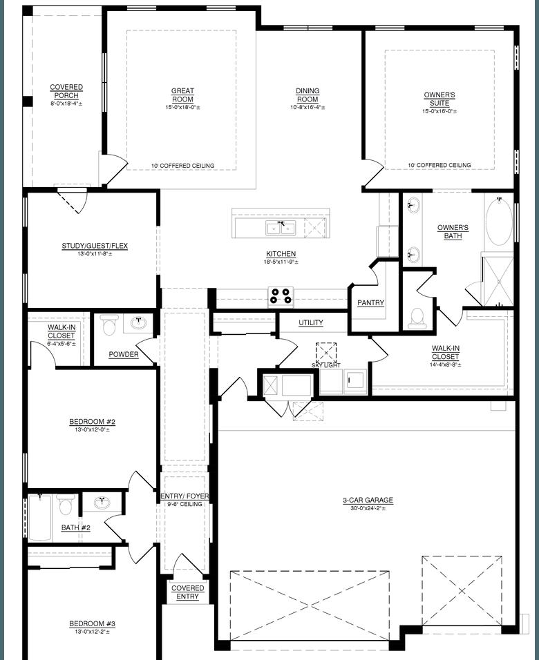 The Marilyn - Floor Plan