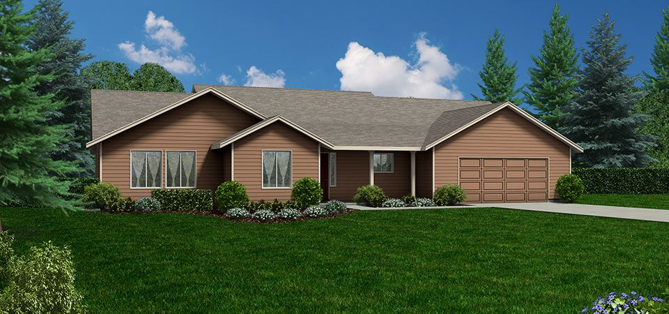 Single Family for Sale at Adair Homes Central Washington - Build On Your Lot - The Blakely 1601 E Washington Ave Suite 102 Yakima, Washington 98903 United States