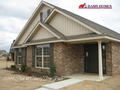 Cherry Tree Park by Adams Homes in Memphis Tennessee