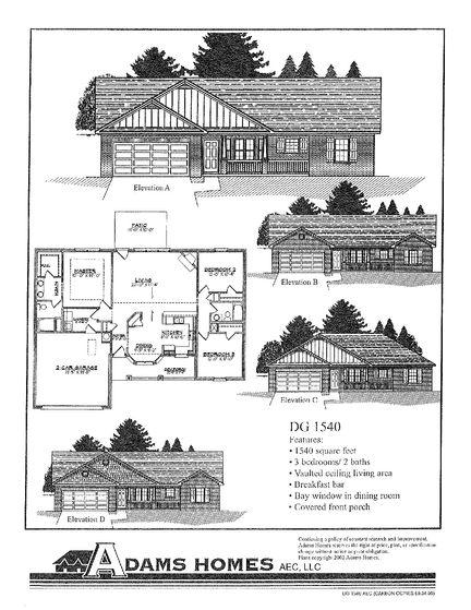 1540 - Savannah Pointe: Simpsonville, South Carolina - Adams Homes