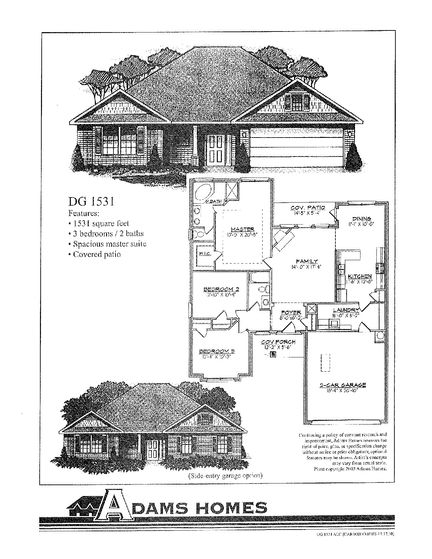 1531 - Savannah Pointe: Simpsonville, South Carolina - Adams Homes