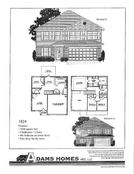 1824 - Savannah Pointe: Simpsonville, South Carolina - Adams Homes