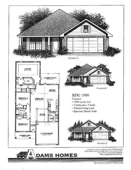 1900 - Savannah Pointe: Simpsonville, South Carolina - Adams Homes
