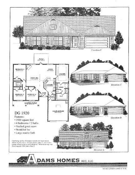 1920 - Savannah Pointe: Simpsonville, South Carolina - Adams Homes