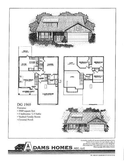 1969 - Savannah Pointe: Simpsonville, South Carolina - Adams Homes
