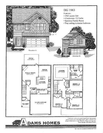 1983 - Savannah Pointe: Simpsonville, South Carolina - Adams Homes