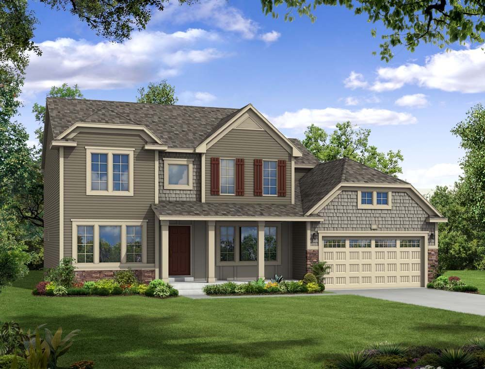 Traditions 2800 - Castle Creek Ridge: Galesburg, MI - Allen Edwin Homes