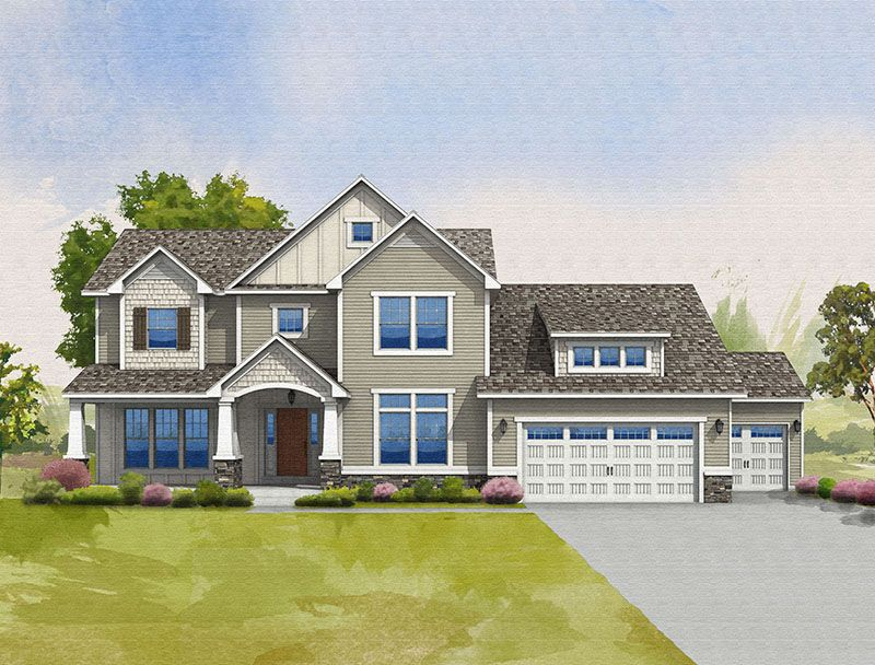 Southampton - Huntmore Estates: Brighton, MI - Allen Edwin Homes
