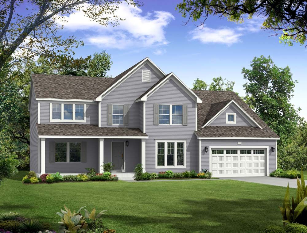 Traditions 3400 - Castle Creek Ridge: Galesburg, MI - Allen Edwin Homes