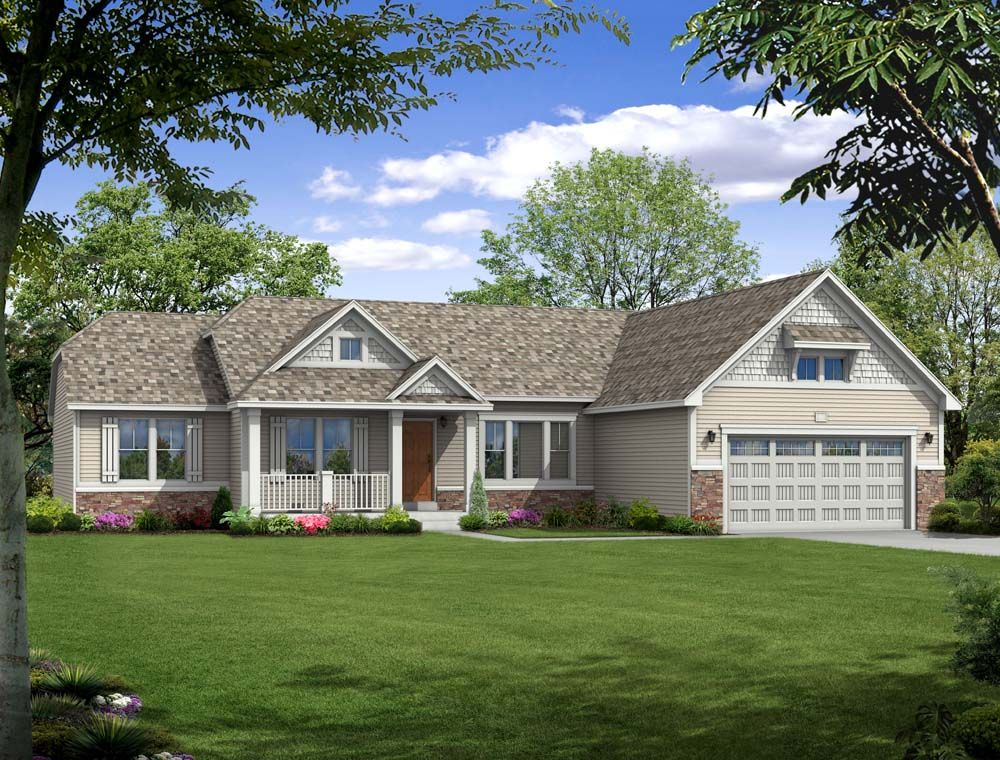 Traditions 2350 - Castle Creek Ridge: Galesburg, MI - Allen Edwin Homes