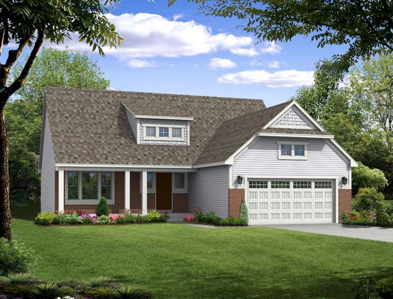 Traditions 2330 - Castle Creek Ridge: Galesburg, MI - Allen Edwin Homes