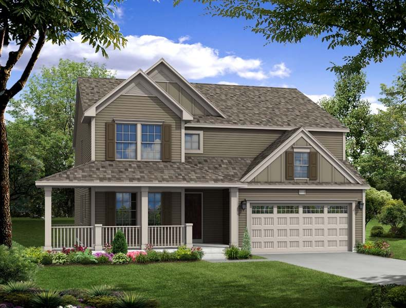 Traditions 3100 - Castle Creek Ridge: Galesburg, MI - Allen Edwin Homes