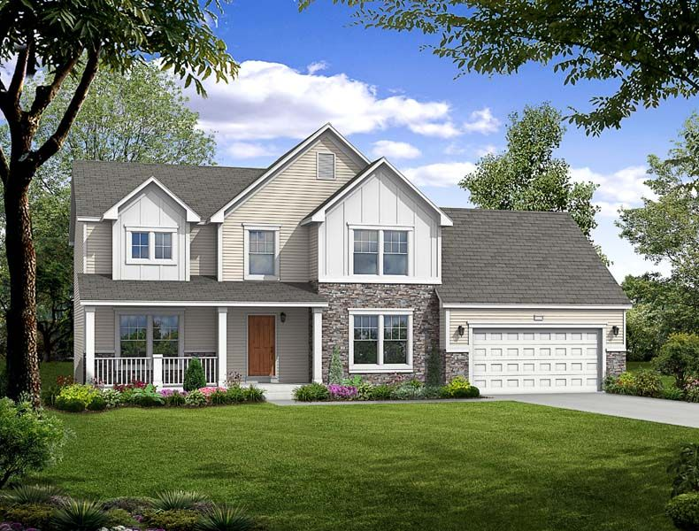 Traditions 3000 - Castle Creek Ridge: Galesburg, MI - Allen Edwin Homes