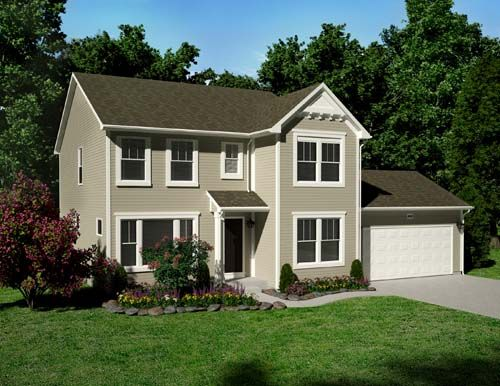 Traditions 2300 - Castle Creek Ridge: Galesburg, MI - Allen Edwin Homes