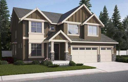 Saddlebrook by American Classic Homes in Seattle-Bellevue Washington