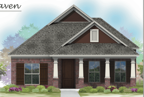 Pleasant Dreams Villas by American Life Homes in Fort Worth Texas