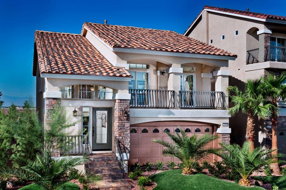 American West Jones Crossing New Homes In Las Vegas Nv By