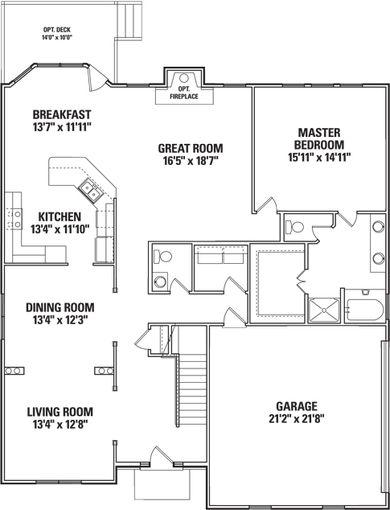 Knottingham II - First Floor Plan