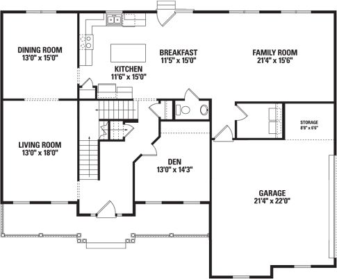 Wynfield  - First Floor Plan
