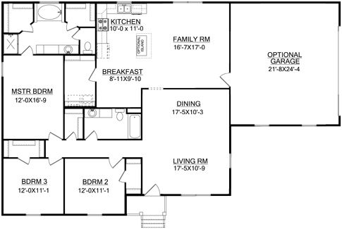 Bell III - First Floor Plan