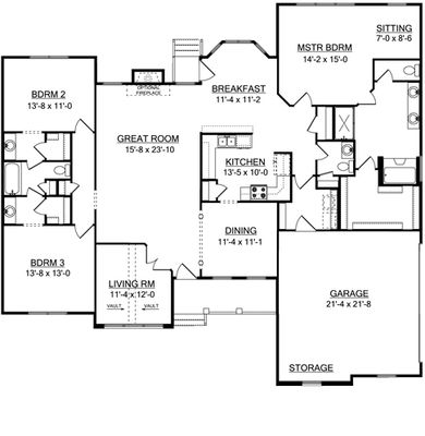 Waterstone I - First Floor Plan