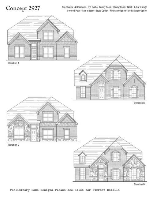 Meadow Creek Estates by Antares Homes in Dallas Texas