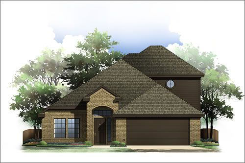 Villages of Sunset Pointe by Antares Homes in Fort Worth Texas