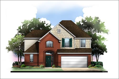 Parks of Deer Creek by Antares Homes in Fort Worth Texas