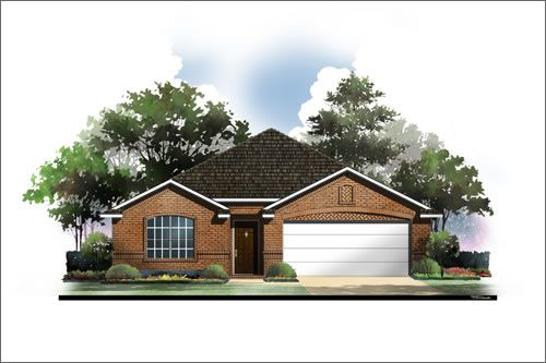 Garden Springs by Antares Homes in Fort Worth Texas