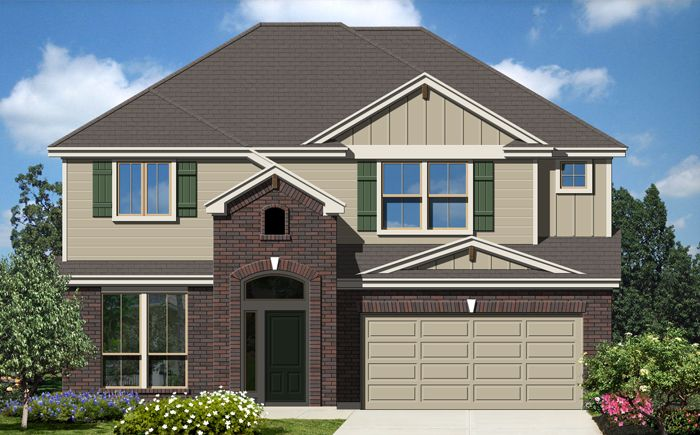 Stonewall (2482) - Cypress Point: Cibolo, TX - Armadillo Homes