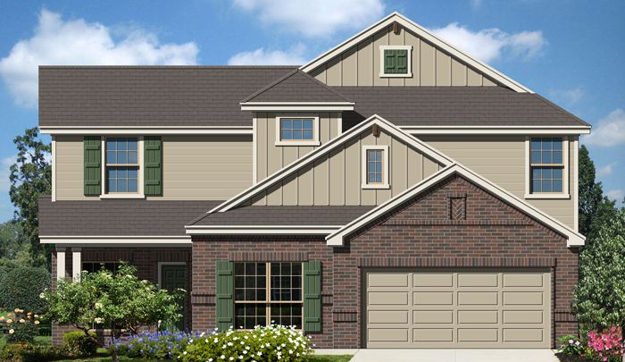 Promontory (3045) - Fairway Ridge: Cibolo, TX - Armadillo Homes