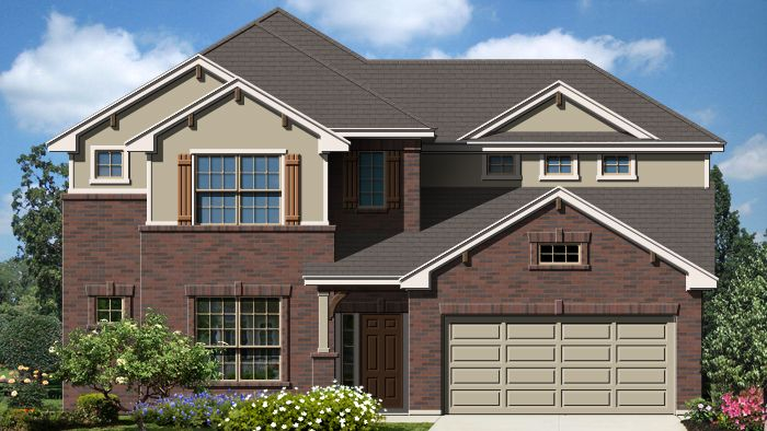 Olympia (3267) - Fairway Ridge: Cibolo, TX - Armadillo Homes
