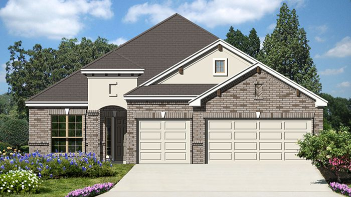 Meridian (2144) - Mockingbird Heights: New Braunfels, TX - Armadillo Homes