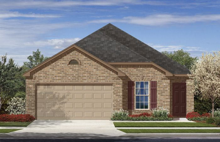 Childress (1500) - Stonecreek: San Antonio, TX - Armadillo Homes
