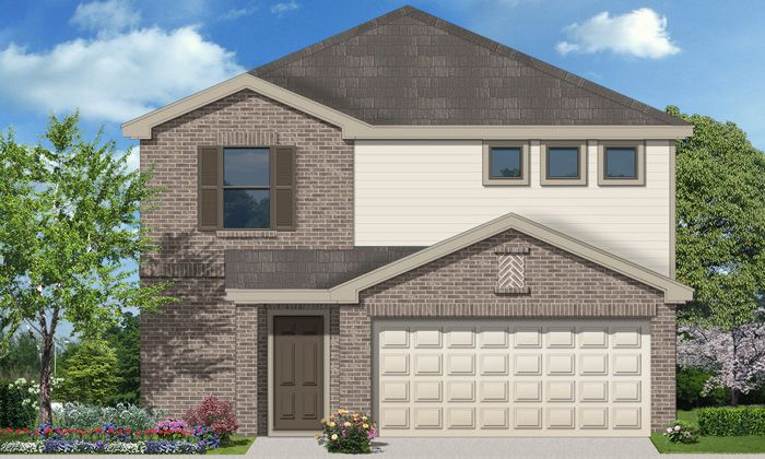 Adams (1631) - Villas San Agustin: Laredo, TX - Armadillo Homes