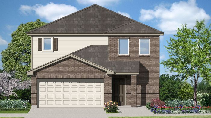 Johnson (2131) - Villas San Agustin: Laredo, TX - Armadillo Homes