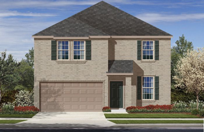 Houston (2300) - Villas San Agustin: Laredo, TX - Armadillo Homes
