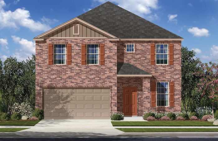 Parmer (2500) - Saddle Creek Ranch: Cibolo, TX - Armadillo Homes