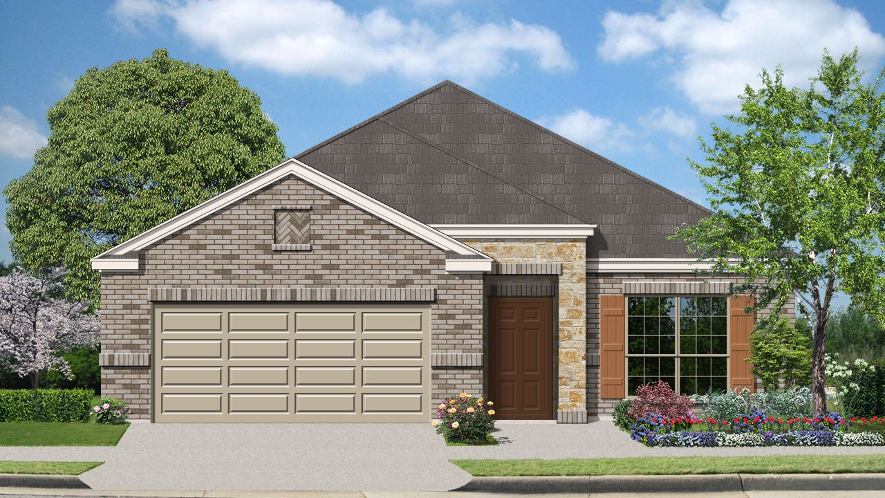 Burnet (1828) - Mockingbird Heights: New Braunfels, TX - Armadillo Homes