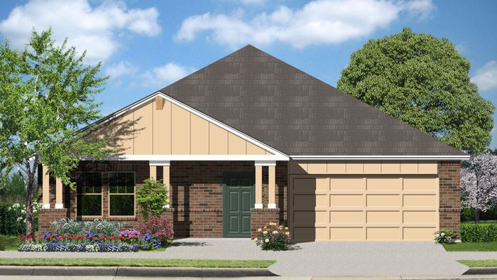 Summit (2045) - Fairway Ridge: Cibolo, TX - Armadillo Homes