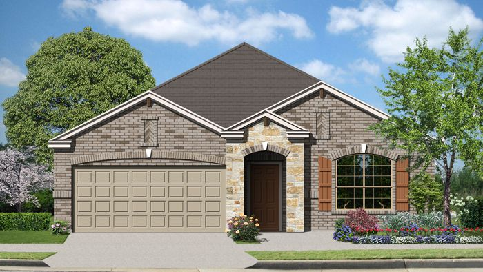 Kendall (2112) - Cypress Point: Cibolo, TX - Armadillo Homes