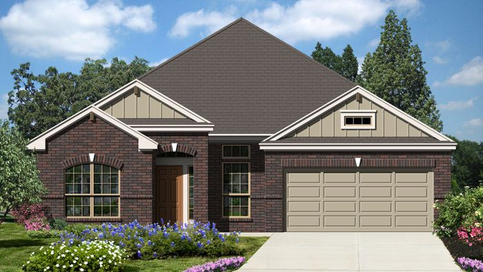Premier (2328) - Fairway Ridge: Cibolo, TX - Armadillo Homes