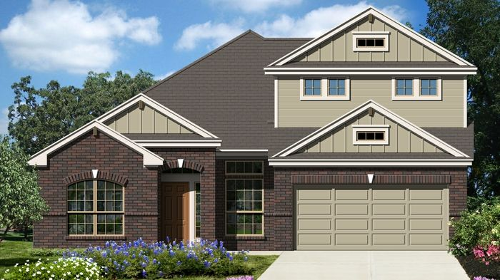 Premier II (2754) - Fairway Ridge: Cibolo, TX - Armadillo Homes