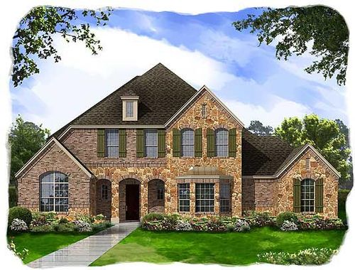 Canterbury Hills and Hogans Glen by Ashton Woods Homes in Fort Worth Texas