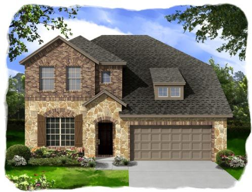 Bluffview by Ashton Woods Homes in Fort Worth Texas