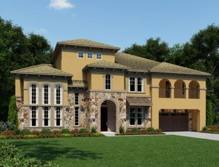 Southern Trails 85ft by Ashton Woods Homes in Houston Texas