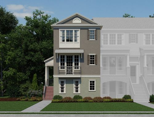 The Hamptons Avenue by Ashton Woods Homes in Orlando Florida