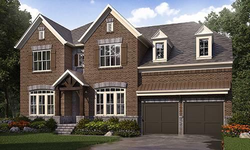 Cobblestone Manor SF by Ashton Woods Homes in Atlanta Georgia