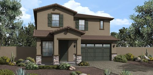 Brookside at The Bridges by Ashton Woods Homes in Phoenix-Mesa Arizona